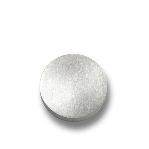 orecchini bottone in argento
